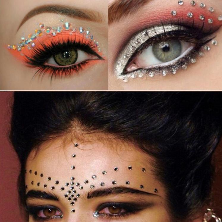 Jewel Eyes Makeup Crystal Sticker