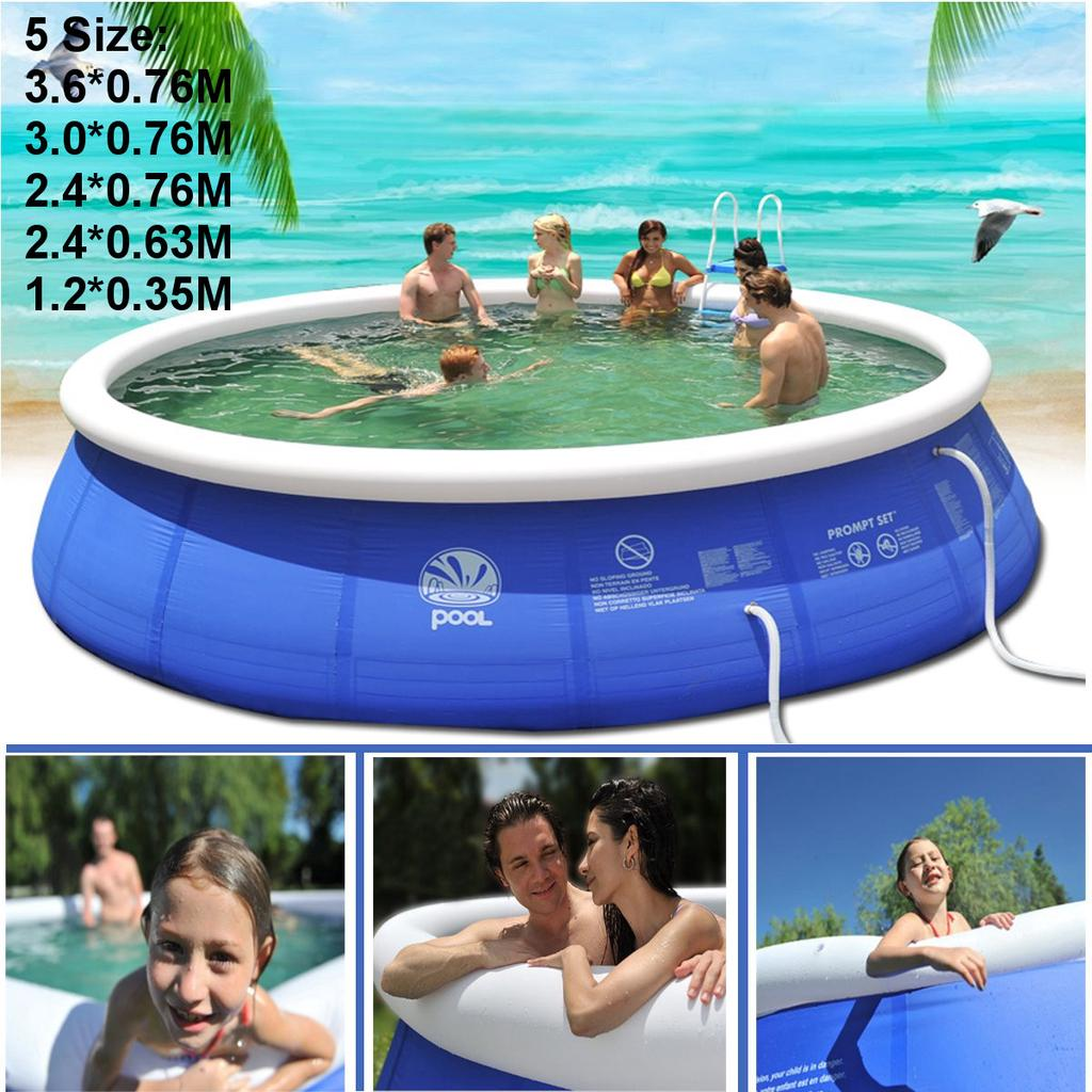 Large Children/'s Swimming Pool Garden Outdoor Inflatable Kids Paddling Pools