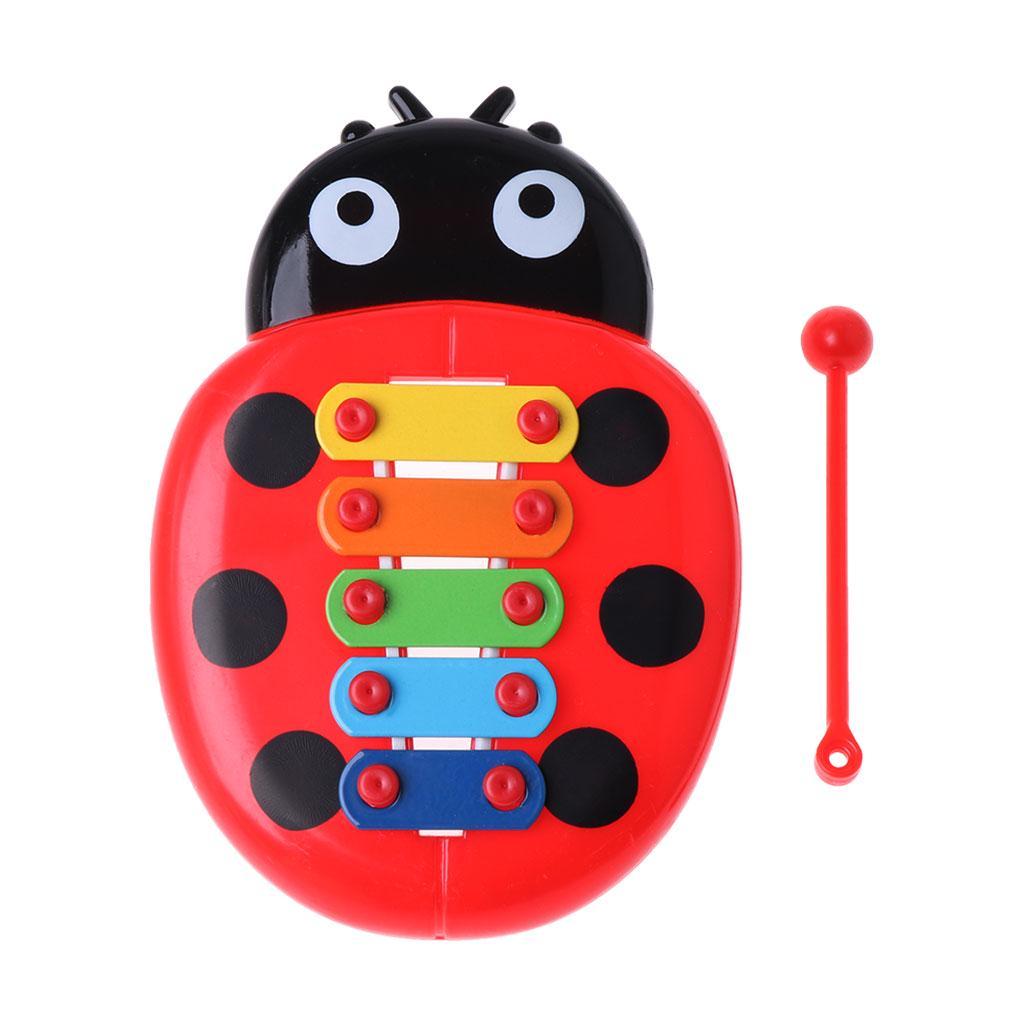 Wooden Hand Rattles Drum Classic Tambourine Toy for Kids Baby Newborn MW