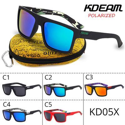 c322a1503d KDEAM KD05X polarizado gafas de sol deportivas conducción pesca ciclismo  gafas con