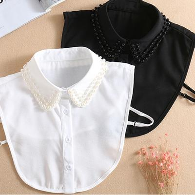 Kids False Collar Fake Half Shirt Blouse Decor Baby Detachable Collar Bibs C