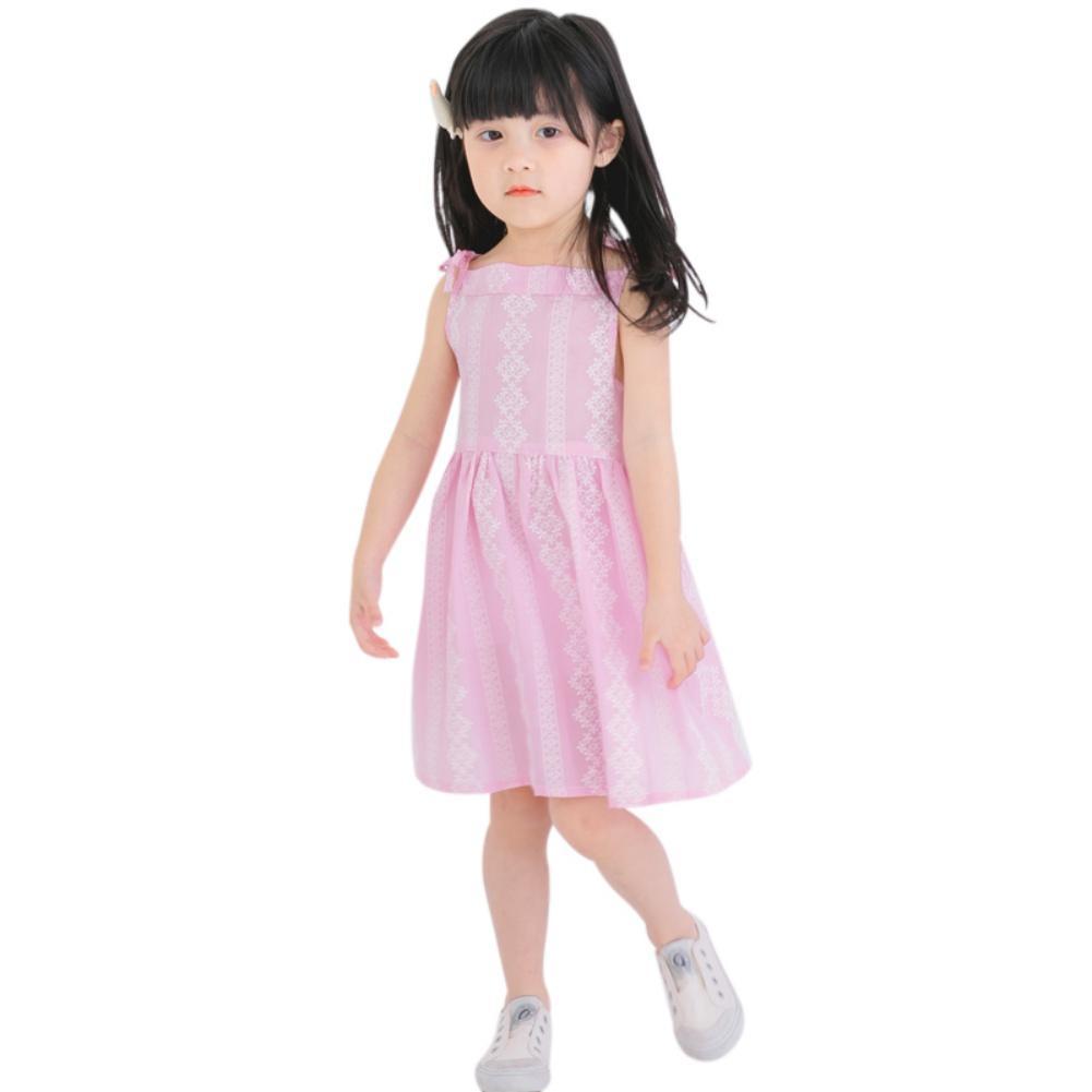 2-7Y Baby chicas Fashion vestidos de manga larga vestido de fiesta ...
