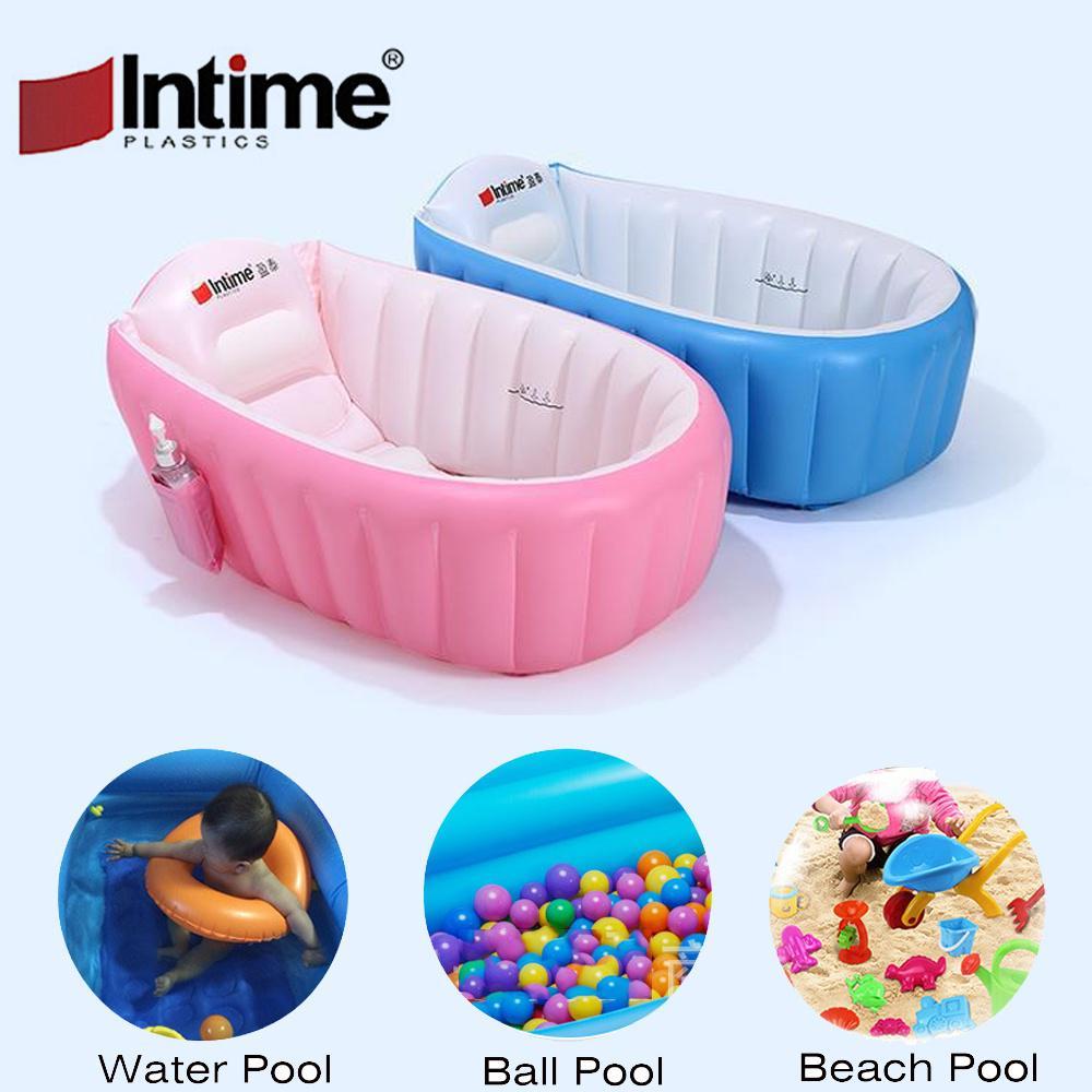 Intime Brand Baby Bath Tub Child Play Pool Ocean Ball Swim Center ...