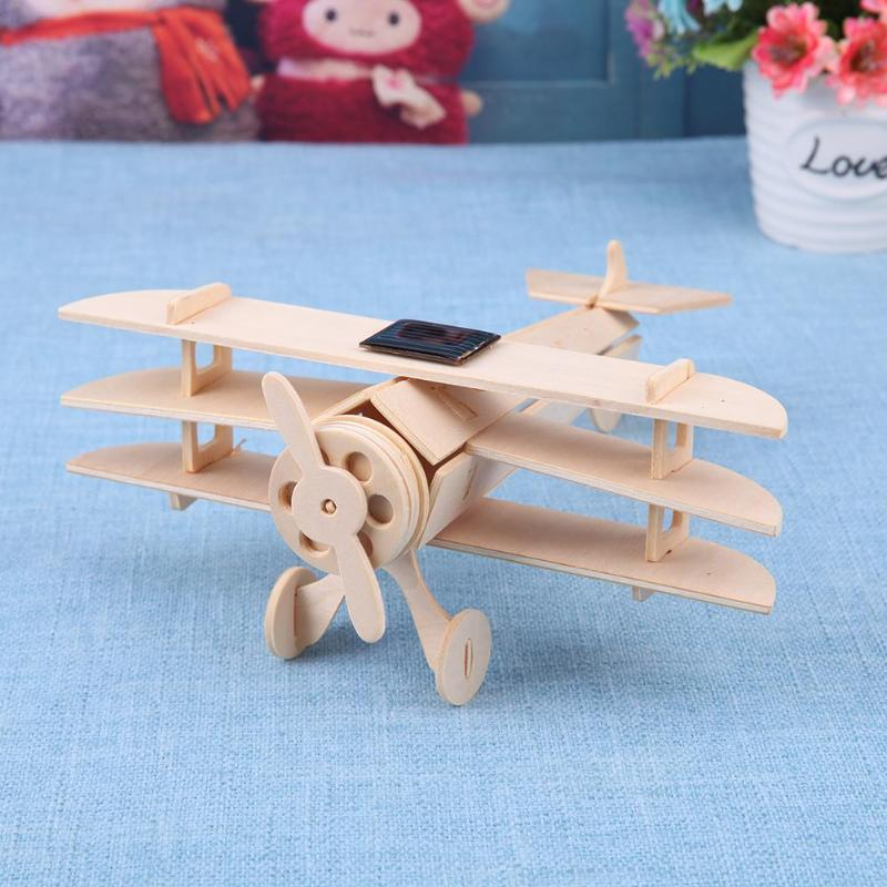 Other Educational Toys TRI PLANE 3D Model Solar Panels for DIY
