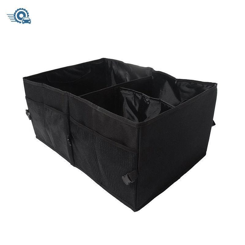 1Pcs Foldable Car Auto Back Rear Trunk Seat Big Storage Bag Pocket Organizer