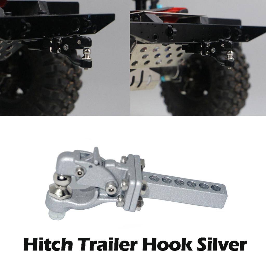 Metal Hitch Trailer Hook for SCX10 90046 TRX4 1//10 RC Crawler Car Parts