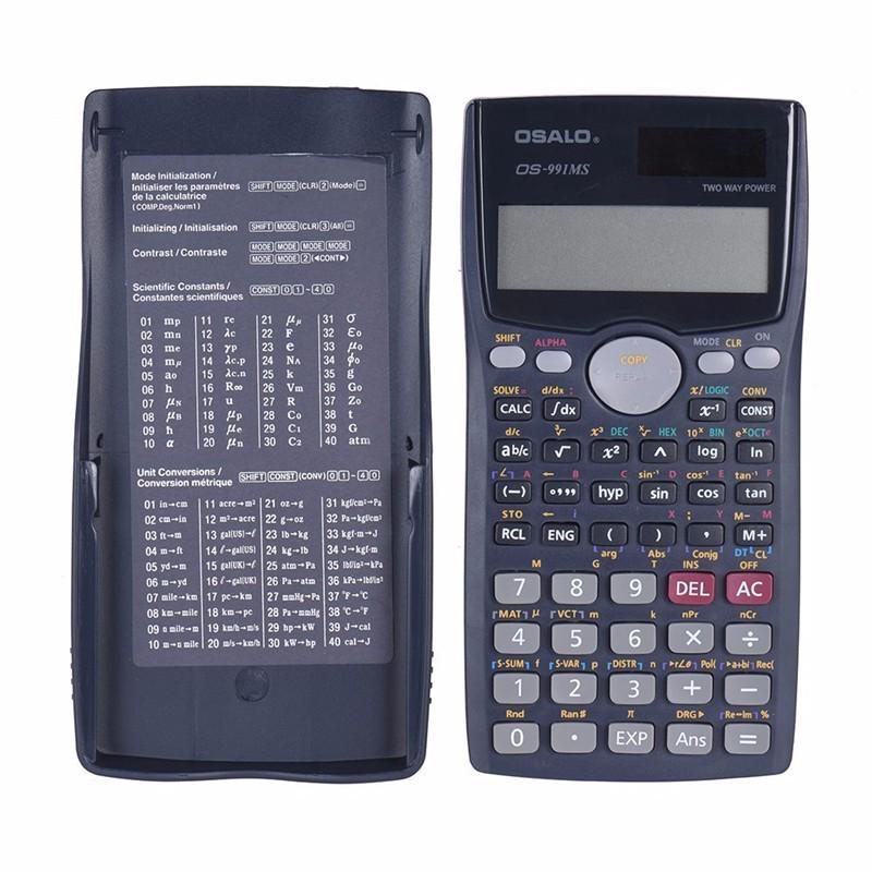 Portable 12 Digital Solar Calculator Business Accounting Electronic Calculator