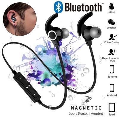 f5b56f5b293 Gocomma Noise Cancelling Bluetooth Wireless Sports Headset with TF ...