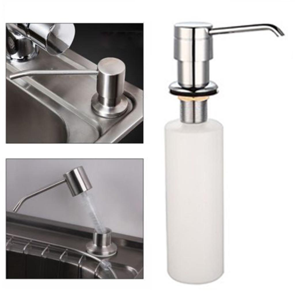 Buy Kitchen Sink Built In White Liquid Soap Dispenser Lotion Pump Cover Countertop At Affordable Prices Free Shipping Real Reviews With Photos Joom