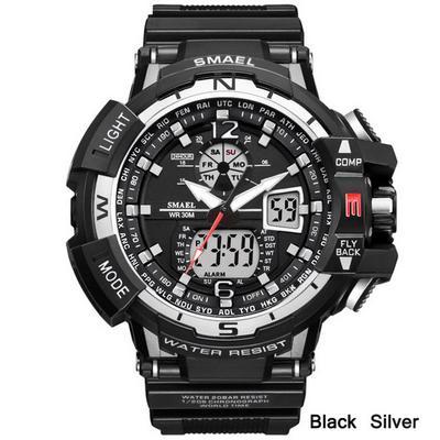095a8dd542f2 SMAEL deporte reloj hombres reloj hombre LED Digital cuarzo relojes Digital  Watch de Men