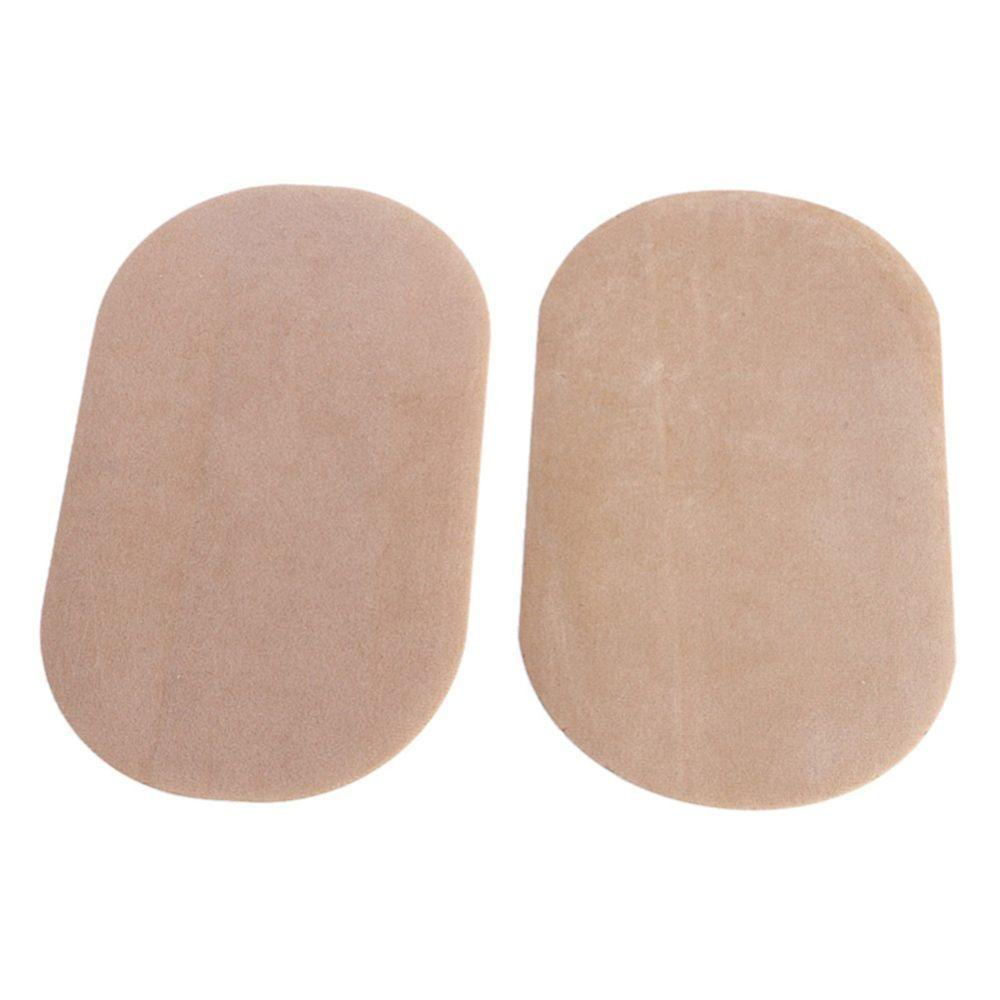 2 Colors Pairs Sew-On Suede Oval Elbow Knee Patches for Sweater Pants Repair Craft