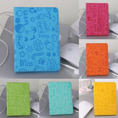 10pcs Transparent Frosted Pvc Business Id Cards Covers Clear Holder Cases Travel Ticket Holders Waterproof Protect Bags 9.6*6cm Fashionable Patterns Card Holder & Note Holder