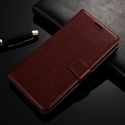 Vintage Business Flip Wallet Leather Case On Redmi Note 9 Pro 9S 8 Pro 8T 7 6 Note 5 4 Redmi 9 8 8a 7a 7 6 6a 4x 5 Plus Xiaomi Mi Note 10 Lite 9 A3