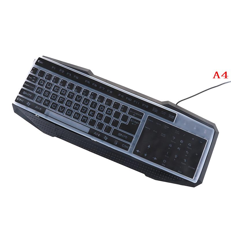 1PC colorful silicone universal desktop computer keyboard cover skin protector /&