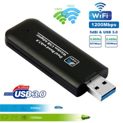 Kavas 2DBI USB Wireless WiFi Adapter Dongle Network LAN Card receiver mini 802.11N mobile laptop