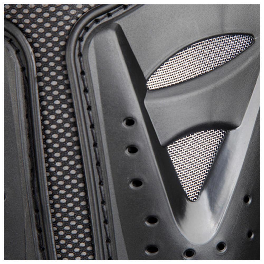New Men/'s Armor Biker Motorcycle Leather Adjustable Vest Stylish Black