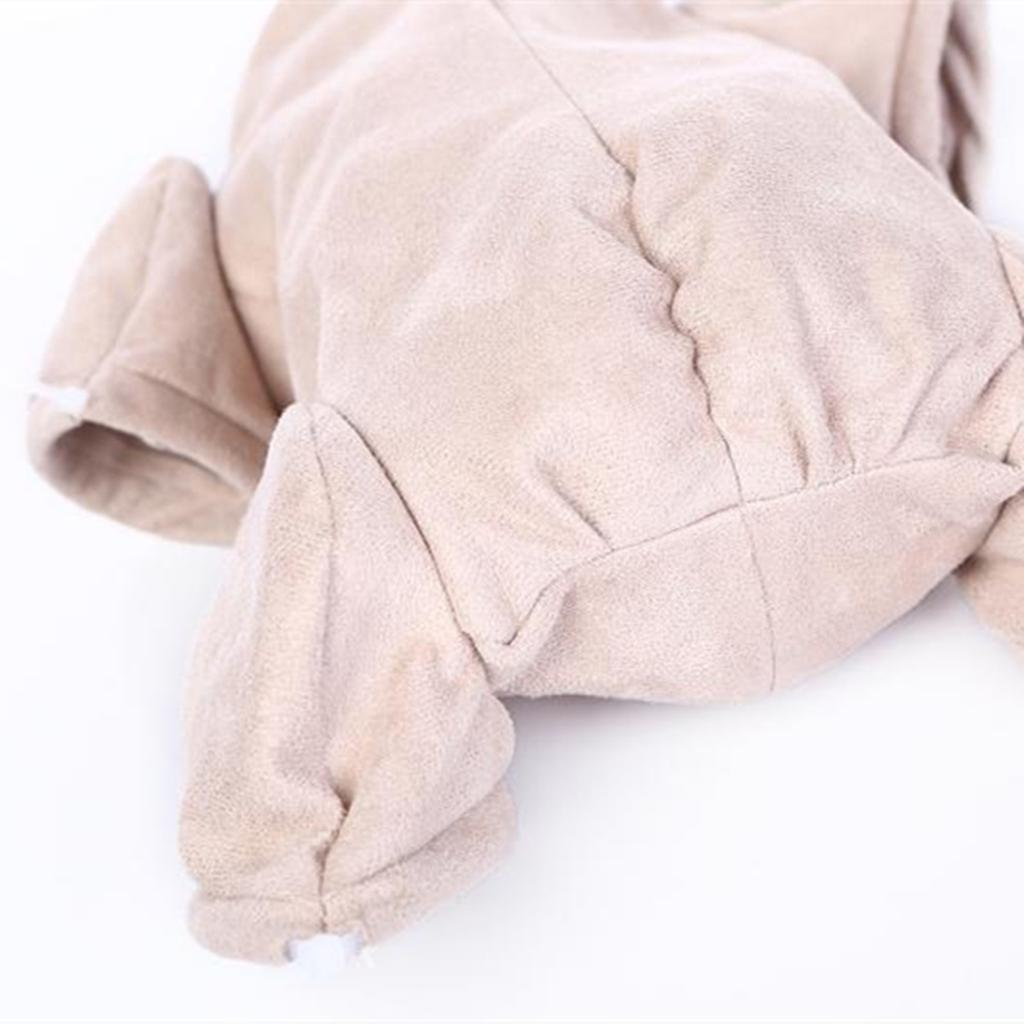 """22/"""" Reborn Baby Doll Supplies Doe Suede Body For Doll Kit 3//4 arms Full Legs"""