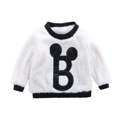 Little Boys Sweater Kids Toddlers Baby Crew Neck Long Sleeve Christmas Pullover Sweatshirt Outfits Winter Warm Thick Clothes