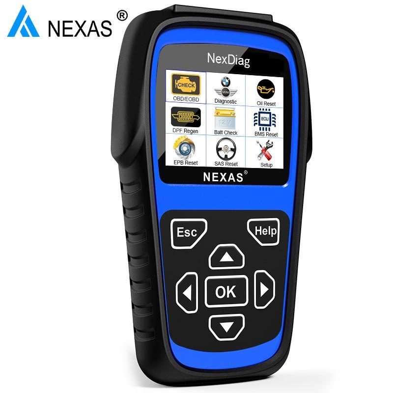 NEXAS 2018 ND601 For BMW / MINI OBD Code Reader Multi-Sysstem Diagnostic  Scanner-buy at a low prices on Joom e-commerce platform
