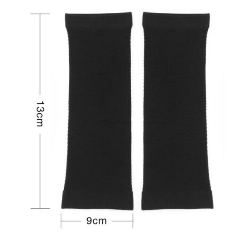 2X Ladies Slimming Weight Loss Arm Shaper Cellulite Fat Burner Wrap//Belt Black