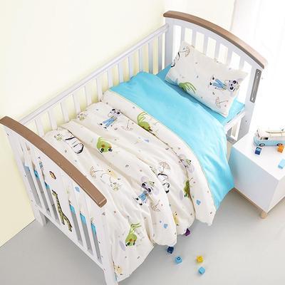 f4fddce3 set de 3 piezas bebé lecho Set incluyendo edredón cubre funda de almohada  cama hoja de