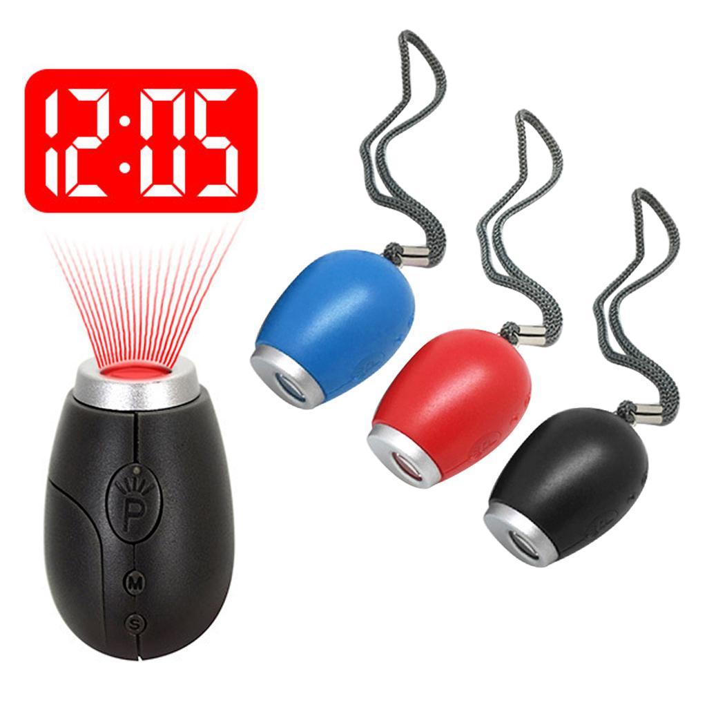 Портативные цифровые проекционные светодиодные часы с таймером Часы с проектором Ночные часы – купить по низким ценам в интернет-магазине Joom