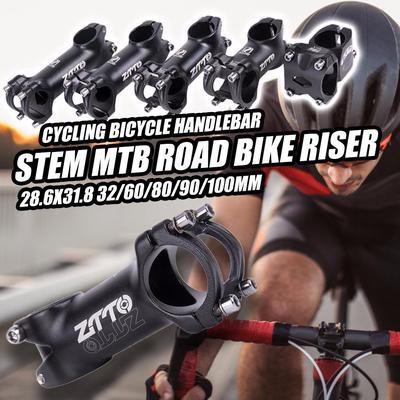 Aluminum Alloy Mountain Bike Hollow Riser Durable Hollowed Cycling Short Bar