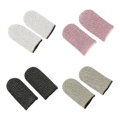 1 Pair Breathable Game Controller Finger Cover Finger Thumb Sleeve Gloves for PUBG Gaming Accessories