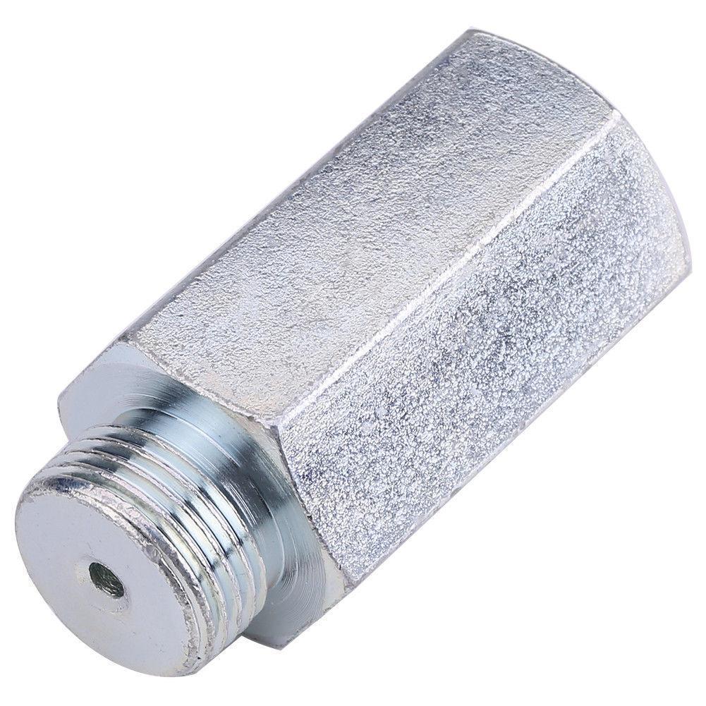 1Pcs Oxygen Sensor Extender Spacer O2 Sensor For M18 x1.5 Decat Hydrogen Steel