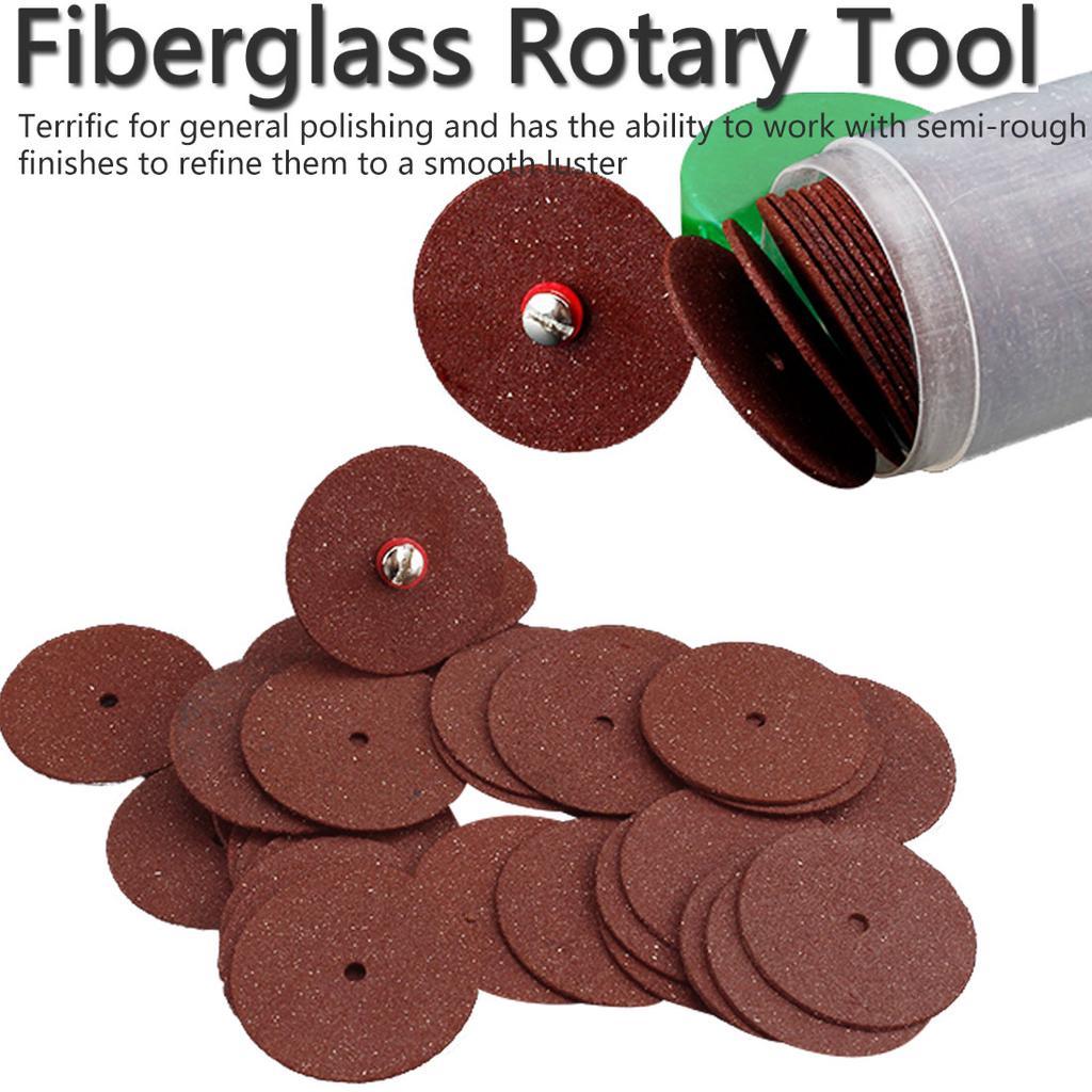 36 Pcs Fiberglass Tool Abrasive Cutting Disc Cut Off Wheel Rotary Abrasive Tools