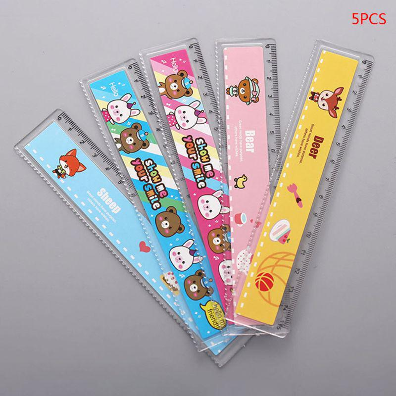 30cm Korean Cute Candy Colors Folding Ruler Gift Stationery Office School Favor.