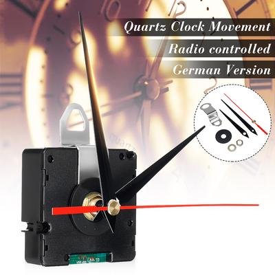 DIY Mechanism Atomic Radio Controlled Silent Clock Movement Kit Germany DCF Signal Repair Tool Parts Home HR9312 Home Household