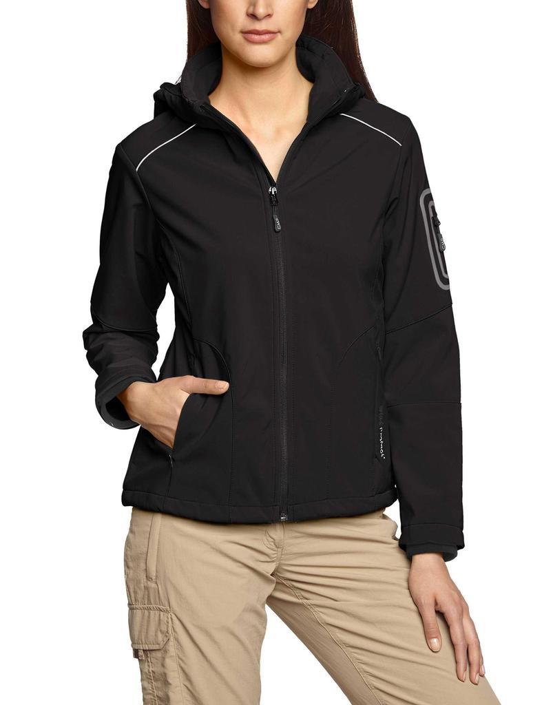 Cmp? F. Lli Campagnolo Softshell Jacket for Women, Women, Softshelljacke, Nero En: S (manufacturer Size: 38d)