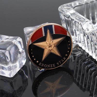Bronze Star Military Commemorative Coins Collections -buy at