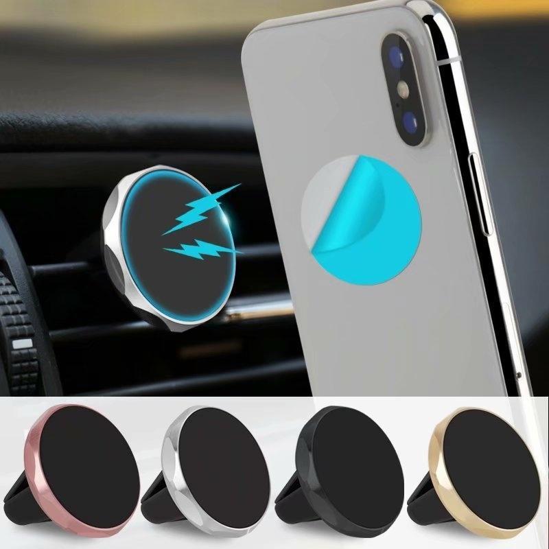 Универсальный автомобиль Телефон Держатель Магнитный воздух Vent Маунт Мобильный смартфон Стенд Магнит поддержки ячейки