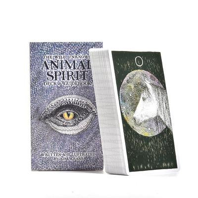 63 Sheets The Wild Unknown Animal Spirit Deck Guidebook Tarot Cards Board Game Card Buy At A Low Prices On Joom E Commerce Platform