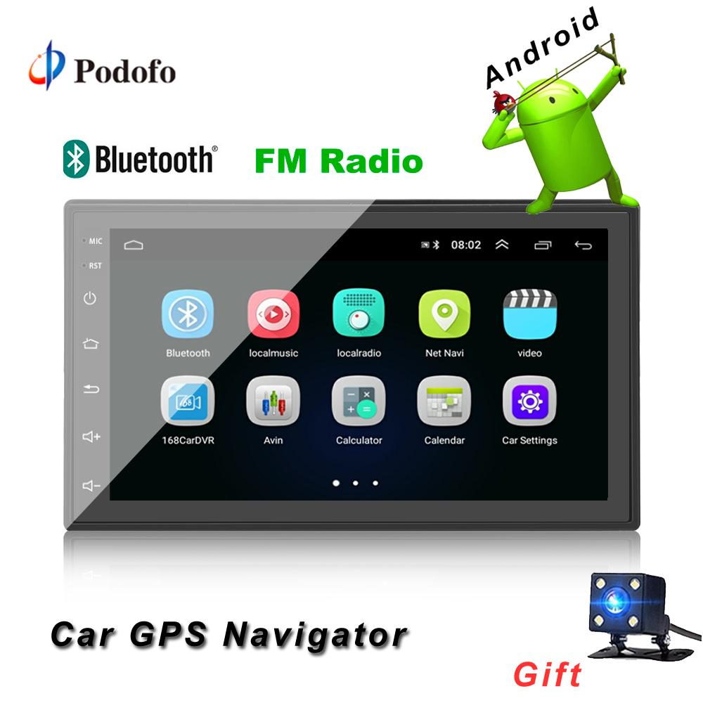 Android 2 Din Capacitance Touch Screen Car MP5 Player with Bluetooth WIFI  GPS FM AM Radio