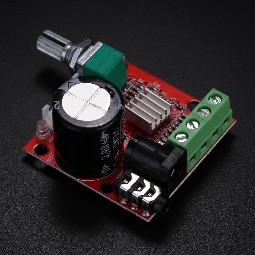 PAM8610 Mini 10W+10W Stereo Audio Power Amplifier Board Module w// Volume Control