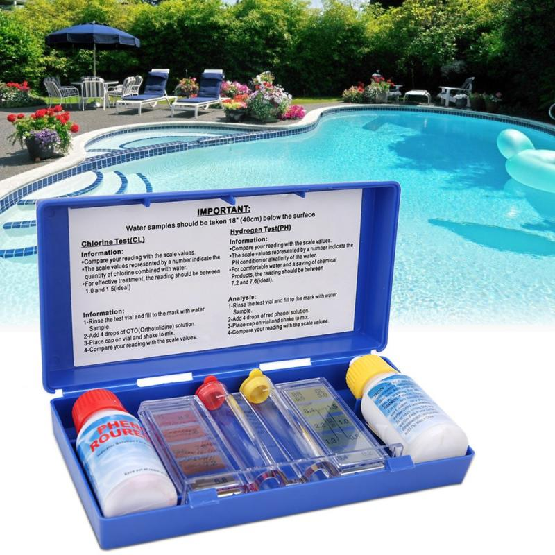 Pooltester pool test kit hot tub swimming pool chlorine ph