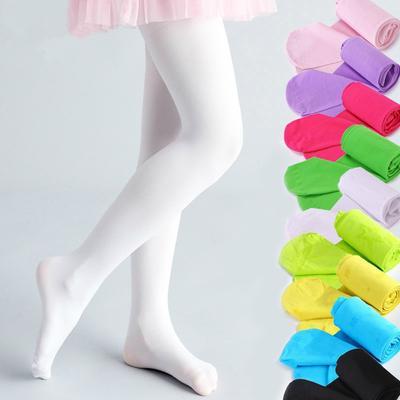 Children/'s Socks Tights Stockings Pantyhose Ballet Dancewear Solid Soft Cotton