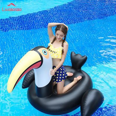 30ba07cc4df1 PVC reforzado divertido piscina flotador Donald Trump bandera ...