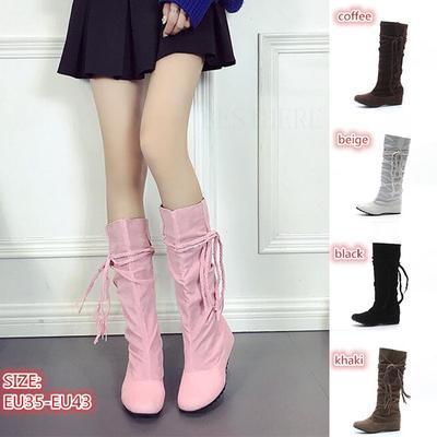 7521b06721 Modne buty Buty Nogi Suede buty Buty Modne buty Boho Różowe buty Faux  Bottes En Daim