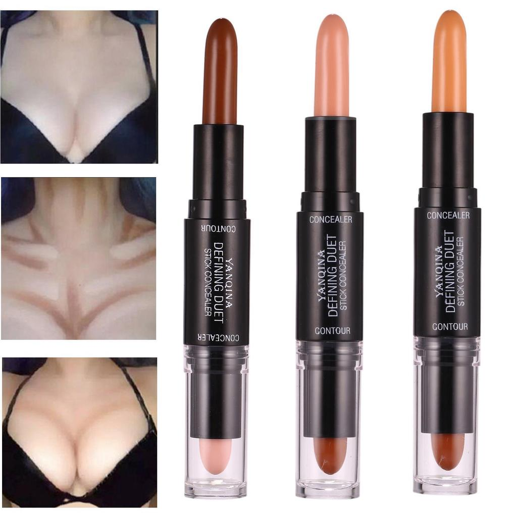 1pc Healthy Double-head Brighten Concealer High Light Repair Capacity Stick Easy On The Makeup 4.4 Back To Search Resultsbeauty & Health