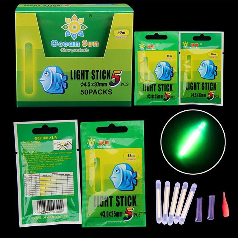 clip dunkle leuchtstab lightstick fischerei schweben das fluoreszierende licht