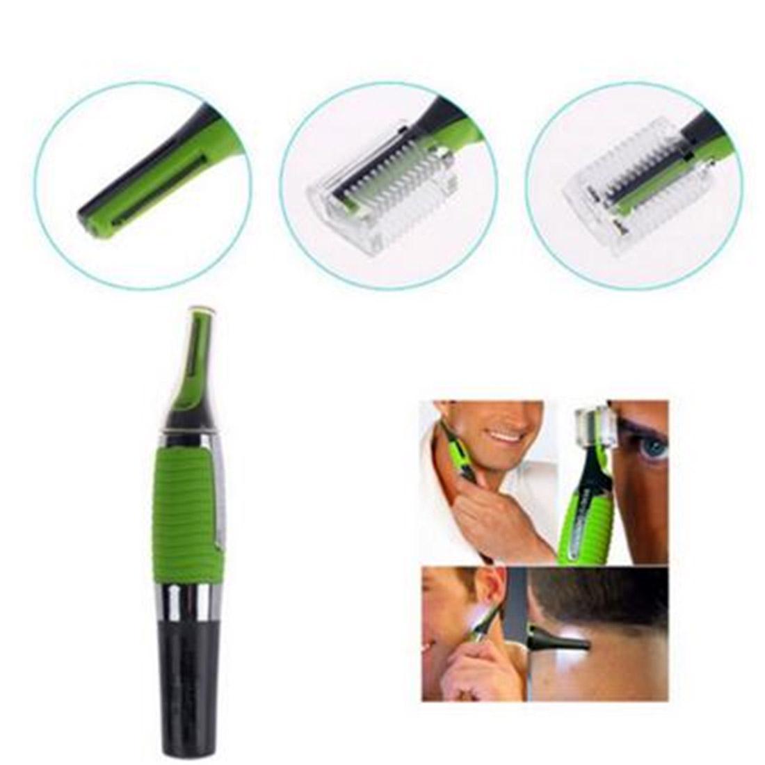 Мода аксессуар нос волосы триммер бритья устройства категории Многофункциональные привело уха электрические бритвы фото
