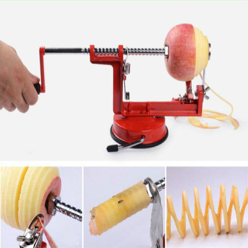 Машина для нарезки фруктов и овощей для чистки яблок / Машина для чистки яблок для фруктов Инструмент для очистки креативной домашней кухни – купить по низким ценам в интернет-магазине Joom