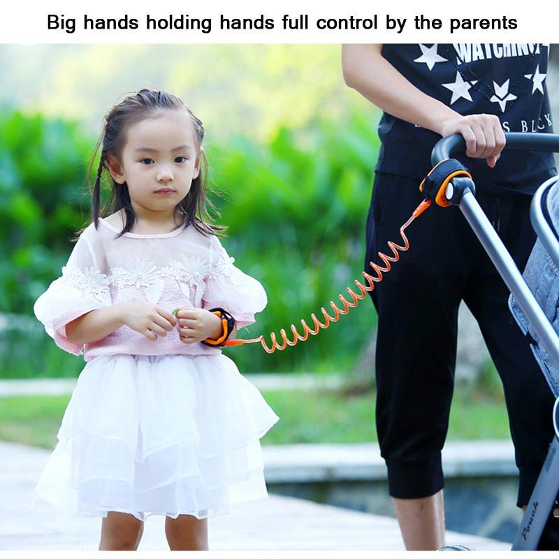 Leezo Anti Lost Wrist Link Child Outdoor Safety Nylon Clasp Wristband Leash Child Safety Harness for Toddlers Baby Safety Anti-Lose Walking Belt Babies /& Kids