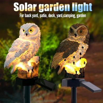 Yard LED Light Butterfly Solar Power Lawn Path Landscape Lamp Outdoor Garden