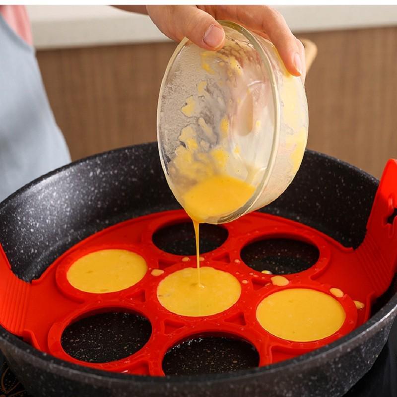 Egg Pancake Ring Nonstick Pancake Maker Omelet Mould Cooker