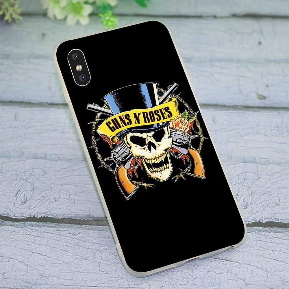 GUNS N'ROSES N' ROSES Axl Phone Cover per iPhone Xs Max Case X 6S XR 8 Plus 7 5S 5 SE – acquistare a basso prezzo nel negozio online Joom